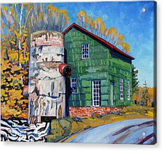 Bedford Mills Acrylic Print