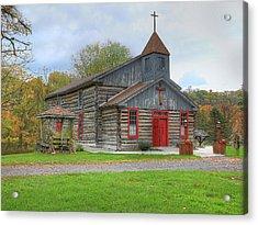 Bedford Village Church Acrylic Print