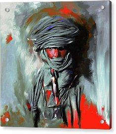 Bedouin Man 453 IIi Acrylic Print