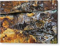 Acrylic Print featuring the digital art Bedrock by Julian Perry