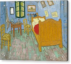 Acrylic Print featuring the painting Bedroom At Arles by Van Gogh