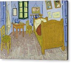 Bedroom In Arles Acrylic Print by Vincent van Gogh