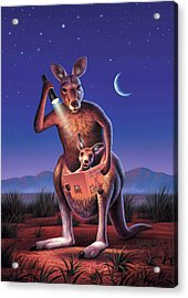 Bedtime For Joey Acrylic Print by Jerry LoFaro