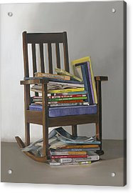 Bedtime Stories Acrylic Print by Gail Chandler