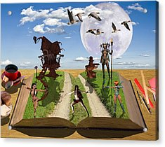 Bedtime Stories Acrylic Print