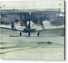Beechcraft King Air Acrylic Print by Donald Maier