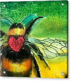 Beehave Acrylic Print