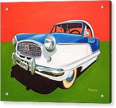 Beep Beep Acrylic Print