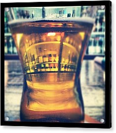 #beer #bar #bottles #irish #drinking Acrylic Print