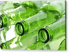 Beer Bottles Acrylic Print by Blink Images
