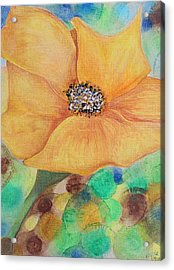 Bees Delight Acrylic Print