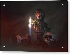 Beethoven By Candlelight Acrylic Print by Tom Mc Nemar