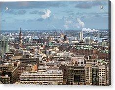 Befor A Snow Storm Hamburg Acrylic Print