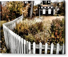 Acrylic Print featuring the photograph Before Snow Flies by Betsy Zimmerli