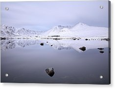 Acrylic Print featuring the photograph Before Sunrise, Glencoe by Grant Glendinning