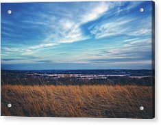 Acrylic Print featuring the photograph Before Sunset At Retzer Nature Center - Waukesha by Jennifer Rondinelli Reilly - Fine Art Photography