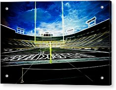 Before The Big Game Acrylic Print by Lawrence Christopher