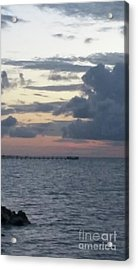 Before The Storm Acrylic Print by Karen Hamby