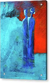 Acrylic Print featuring the painting Before The Wedding by Nancy Merkle