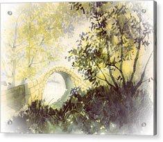 Beggar's Bridge Vignette Acrylic Print