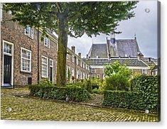 Begijnhof In Breda Acrylic Print