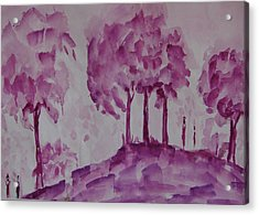Begining Of Ending Acrylic Print by Rima