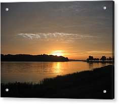 Acrylic Print featuring the photograph Beginning Light by Frederic Kohli
