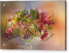 Begonias Acrylic Print