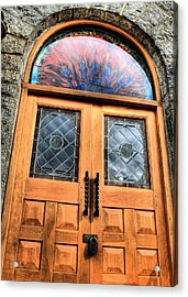 Behind Closed Doors Acrylic Print by JC Findley