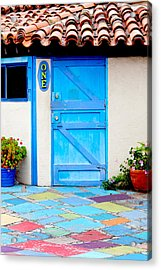 Behind Door Number One Acrylic Print by Art Block Collections