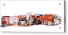 Behind Fourth Street Acrylic Print