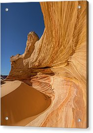 Behind The Drift Acrylic Print by Tim Grams