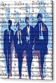 Behind The Music Acrylic Print by Maz