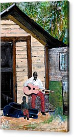 Behind The Old House Acrylic Print