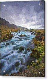 Behind The Rain II Acrylic Print by Jon Glaser