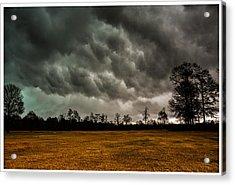 Behind The Tornado Acrylic Print