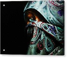 Behind The Veil Acrylic Print by Richard Klingbeil
