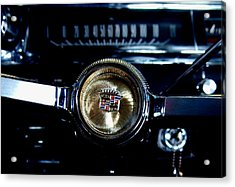 Behind The Wheel Acrylic Print