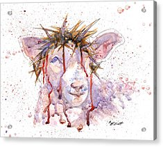 Behold The Lamb Acrylic Print