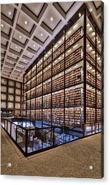 Beinecke Rare Book And Manuscript Library Acrylic Print