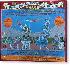 Being For The Benefit Of Mr. Kite Acrylic Print