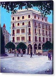 Beirut - Centre Ville Acrylic Print