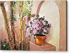 Bel-air Azaleas Acrylic Print