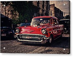 Acrylic Print featuring the photograph Bel Air Hotrod by Joel Witmeyer