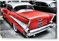Bel-air Acrylic Print by Scott Childress