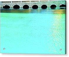 Belaggio Bridge Acrylic Print