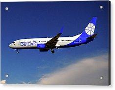 Belavia Boeing 737-8zm Acrylic Print