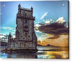 Belem Tower II Acrylic Print