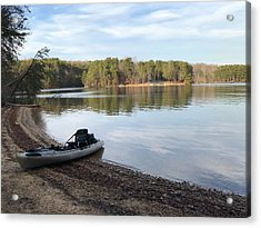 Belews Lake Kayaking Acrylic Print