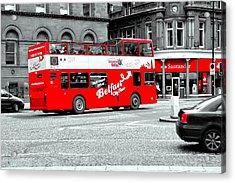 Belfast City Tour Acrylic Print